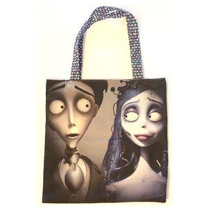 The Corpse Bride Movie fabric tote bag purse